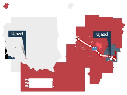 Lokalizacja Gminy Ujazd
